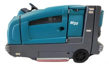 tennant m20 riding floor scrubber sweeper